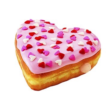 LOVE DONUT STRAWBERRY
